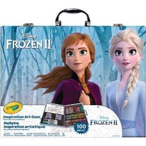 Crayola单品标价为加币价格迪士尼《冰雪奇缘》 II 绘画套装