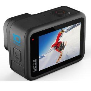 新品上市:GoPro Hero10 Black 正式发布 全新GP2芯片 最高60fps/5.3K