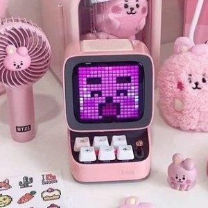 折后€67 多款颜色可选Divoom Ditoo 像素蓝牙音箱 复古电脑造型 还能玩游戏
