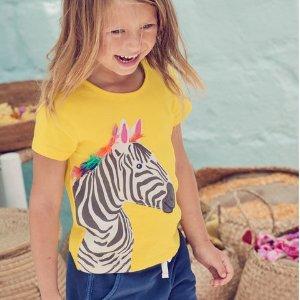 全场7.5折 小黄鸭雨衣雨靴有补货Mini Boden官网 新款春夏童装热卖,颜控妈妈的最爱