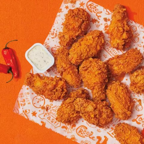Ghost Pepper Wings are HerePopeyes First Order Special, 10% Off Order $10 or More