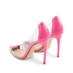 Cendi 透明设计高跟鞋