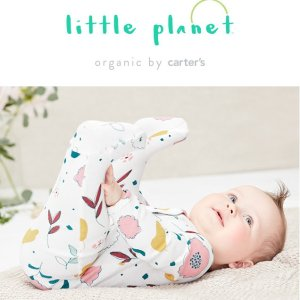50% Off + Extra 25% Off $40Carter's Little Planet Organic