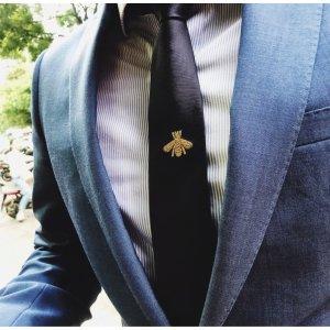 定价优势  £160收经典Logo领带Gucci 领带惊喜热卖 送爸爸、男票都乐开花 精致小礼物