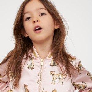 满$60享8折+免邮H&M 精选儿童服饰、鞋履等产品特卖