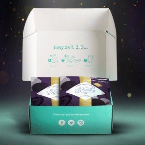 7折 €16收奶昔黑五限量版礼盒Exante 专业代餐大促 减重期间不失美味
