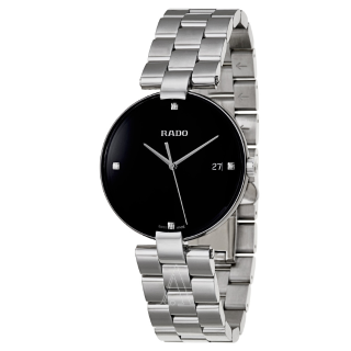 Extra $100 OffRADO Coupole Black Dial Ladies Watch R22852703