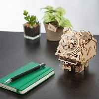 ROKR 木质音乐盒,小狗