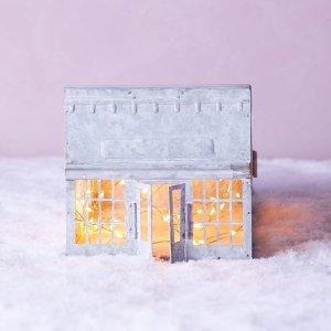 低至3折+额外5折Anthropologie 精致家居小物热卖 收超可爱丹麦小屋灯