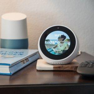 现价 £99.99 (原价£119.99)Amazon Echo Spot 可视化 语音助手 (双色可选)