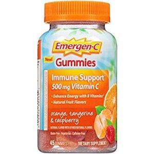 $8.68Emergen-C 维他命C软糖 500 mg 45粒 3种口味