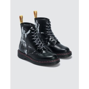 1460 Sxp Black Greasy & Black Backhand马丁靴