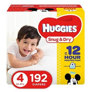 Up to $4 Off Or Extra 15% OffHuggies Baby Diapers @ Amazon