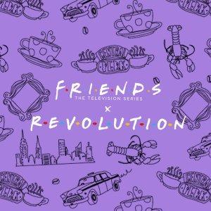 £6起 仅剩少量库存!Revolution x Friends 老友记联名彩妆上新 剧迷这边看!