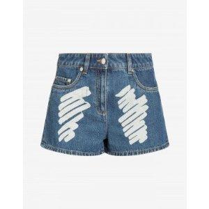 Moschino新款牛仔短裤