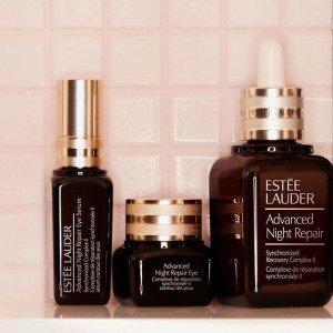 相当于买1送1补货:Estee Lauder 买小棕瓶精华送$69正装眼精华