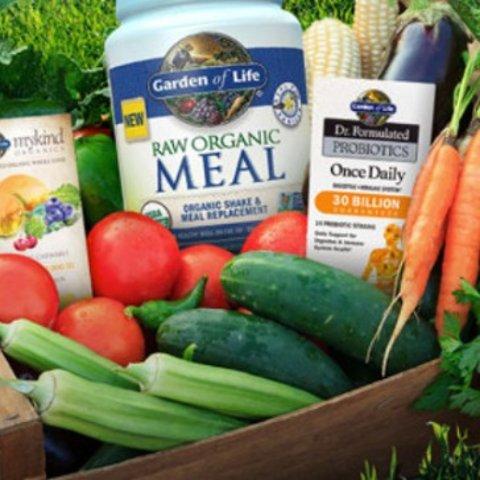 全场8.5折+满额礼包赠送Garden of Life 健康营养品折扣降临 入益生菌、维生素、代餐粉