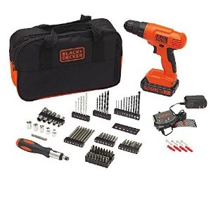 $42BLACK+DECKER BDC120VA100 Cordless Project Kit with 100 Accessories