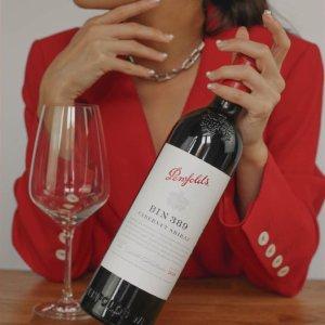 $79(原价$100)上新:Penfolds Bin 389 2019 赤霞珠设拉子750ml红葡萄酒尝鲜