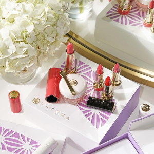 Dealmoon Exclusive! Complimentary Ageless Renewal Cream ($185 value)with $125+ purchase of Blushing Lips duo featuring Kissu Lip Mask + new Peony lipstick @ Tatcha