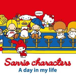 封面款短袖$19.9Uniqlo x Sanrio 三丽鸥 可可爱爱的动画人物 1月中旬即将发售