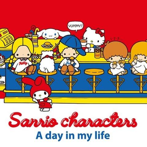 封面款短袖$19.9上新:Uniqlo x Sanrio 三丽鸥 可可爱爱的动画人物 已发售 现货