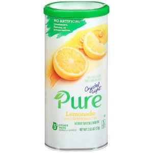 $4.73Crystal Light Pure Lemonade Drink Mix (5 Pitcher Packets)