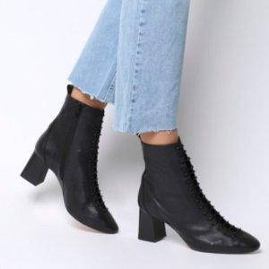 5折起 保暖时尚两不误时尚显瘦脚踝靴合集 高筒直筒全都有