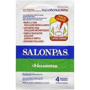 Salonpas 膏药贴 4大片装