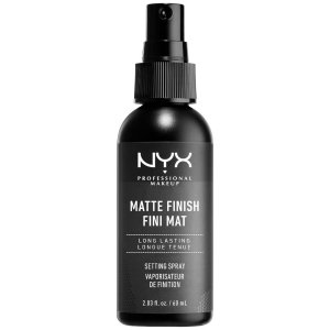 NYX Professional Makeup 雾面长效定妆喷雾