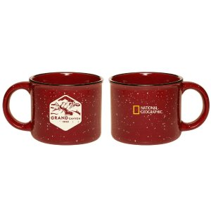 National Geographic Grand Canyon Red Camper Mug