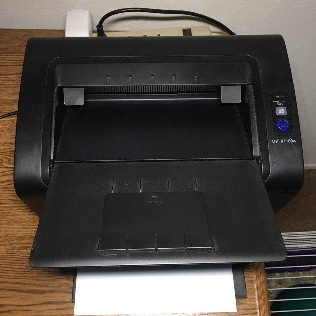 说起来这是我们家第一个激光打印机还...