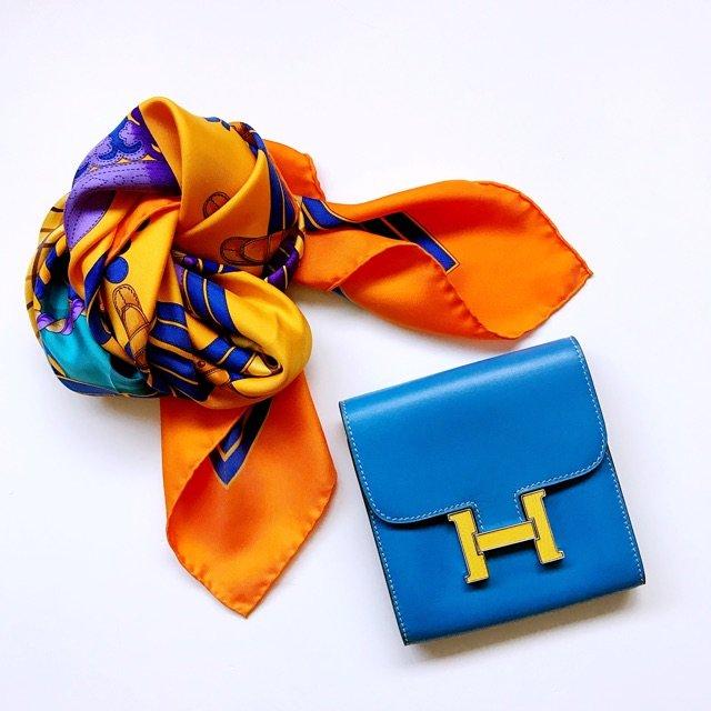丝巾钱包 变身记~ 这个钱包基本没...