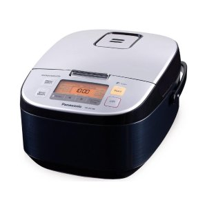 5 Cup Microcomputer Controlled Rice Cooker - Black - SR-ZX105