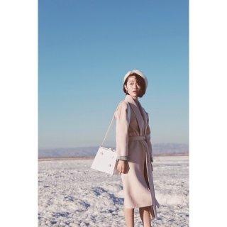 我的秋冬大衣首秀---假装去看雪...