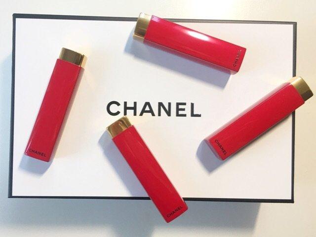 "我与Chanel的""红色""邂逅"