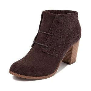$39.99Womens TOMS Lunata Bootie Brown