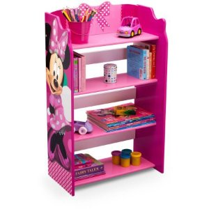 Disney Minnie Mouse Bookshelf Walmart