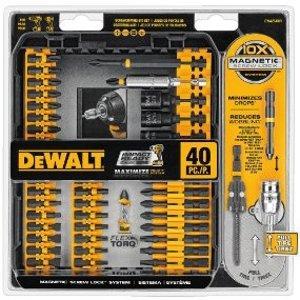 $17.99(原价$40.00)DEWALT DWA2T40IR电钻钻头附件套装 40件套