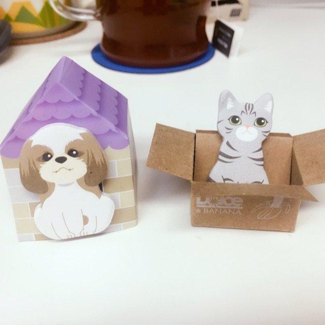 办公桌上的小可爱们 <br /> ...