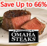 Up to 66% off plus free giftsBest Steak in the US - Omaha Steaks