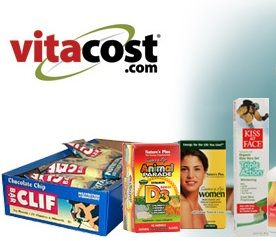 $10 for $20 Worthof Name Brand Vitamins, Personal Care and Organic Products from Vitacost.com